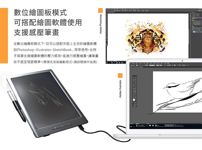 Green board Sync 雲端繪圖板 支援繪圖軟體 壓力感測 筆壓